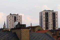 Brüssel-Dachspitzen Stockbilder