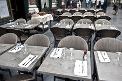 Brüssel-Kaffee Stockfotos