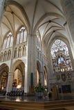 Brüssel - Kathedrale des Heiligen Michael s - transept Lizenzfreie Stockfotos