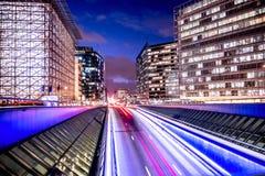 Brüssel-Leben- und -arbeitskraftarbeit oder nicht lizenzfreie stockfotografie