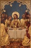 Brüssel - letztes Super von Christ. lizenzfreie stockbilder