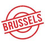 Brüssel-Stempel Lizenzfreie Stockbilder