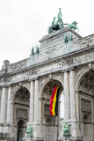 Brüssel-Triumphbogen Lizenzfreies Stockfoto