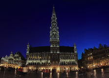 BrüsselRathaus Stockfoto