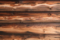 brąz drewniany ścienny tło Zdjęcia Stock