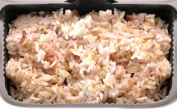 brąz gotujący ryż zdjęcie stock