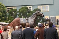 brązowa henry John statua odsłaniająca Zdjęcia Royalty Free