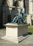 BRĄZOWA statua ROMAŃSKI cesarz CONSTANTINE WIELKI Zdjęcie Royalty Free