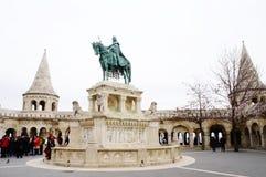 Brązowa statua Stephen Ja Węgry Zdjęcie Stock