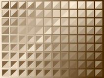 brązowe kwadraty ilustracji