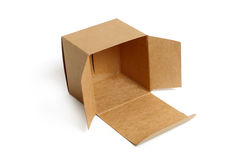 brązowe pudełko Fotografia Stock