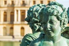 Brązowej rzeźby kobieta Versailles Zdjęcie Stock