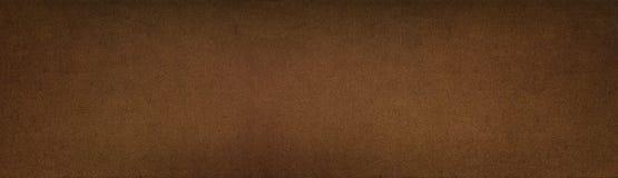Brązowieje barwioną metal teksturę - szeroki panoramiczny rocznika tło fotografia royalty free