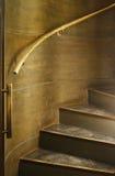 brązowy ślimakowaty schody Obraz Royalty Free