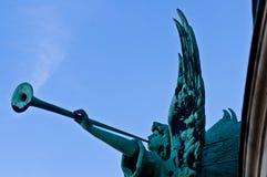 Brązowy anioł Fotografia Royalty Free