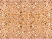 brązowy kolor tła naturalnego kamienia Obrazy Royalty Free