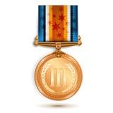 brązowy medal Zdjęcie Royalty Free