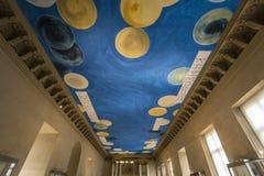 Brązowy pokój louvre, Paryż, Francja Zdjęcie Royalty Free