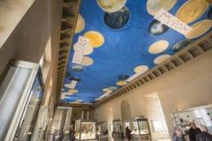 Brązowy pokój louvre, Paryż, Francja Zdjęcia Stock