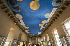 Brązowy pokój louvre, Paryż, Francja Fotografia Stock