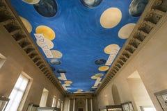 Brązowy pokój louvre, Paryż, Francja Zdjęcia Royalty Free