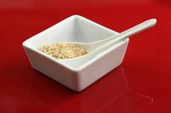 brązowy ryż Obrazy Stock