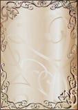 brązowy tła antykami royalty ilustracja