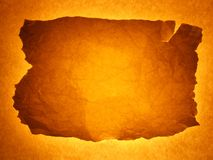 brązowy tła być obramowane złoty Fotografia Stock