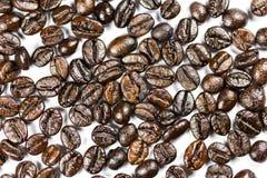 brązowy zamykają fasoli kawy, Obraz Royalty Free