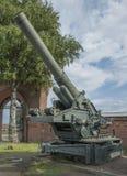 BR-17- 210 - canhão do milímetro (1939) Peso, quilograma: armas - 44000, shell - Foto de Stock Royalty Free