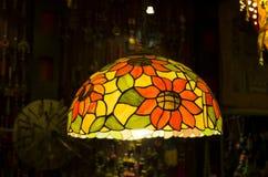 Brûleur coloré par A à lanterne de lumière de lampe de lustres Photos stock