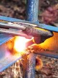 Brûleur en acier Image libre de droits