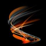 Brûlez le fond d'abrégé sur le feu de flamme Photographie stock libre de droits
