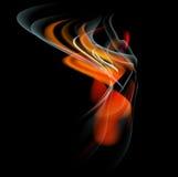Brûlez le fond d'abrégé sur le feu de flamme Photo libre de droits