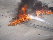 brûlure Photo libre de droits