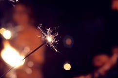 Brûlure de fête de cierges magiques Photo libre de droits