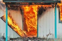 Brûlure du feu photographie stock libre de droits