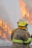 Brûlure du feu Photo stock