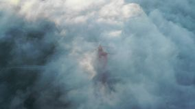 Br5uckeim Nebel stock footage