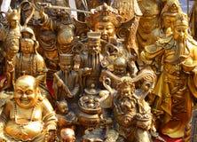 Brązowa statua obrazy stock