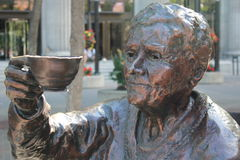 Brązowa statua Henrietta Muir Edwards Fotografia Royalty Free