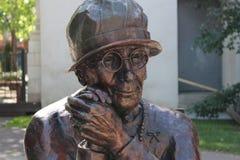 Brązowa statua Louise McKinney Obrazy Royalty Free