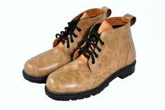 brązowe buty Fotografia Royalty Free