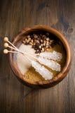 brązowy cukier Fotografia Stock