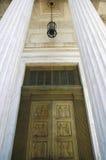 brązowy drzwi Zdjęcie Royalty Free