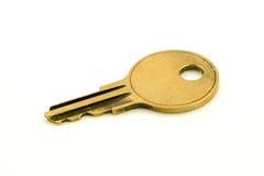 brązowy klucz Zdjęcie Royalty Free