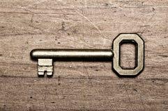 brązowy kluczowym stary Obraz Stock