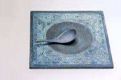 Brązowy kompas Obrazy Royalty Free