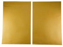 brązowy kopert Obrazy Stock