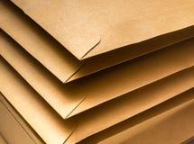 brązowy kopert Zdjęcie Stock
